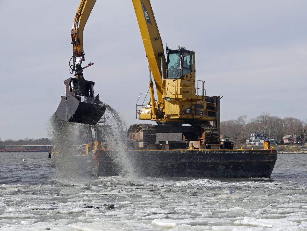 Dredging complete in Stony Creek for town dock and more; harbor next