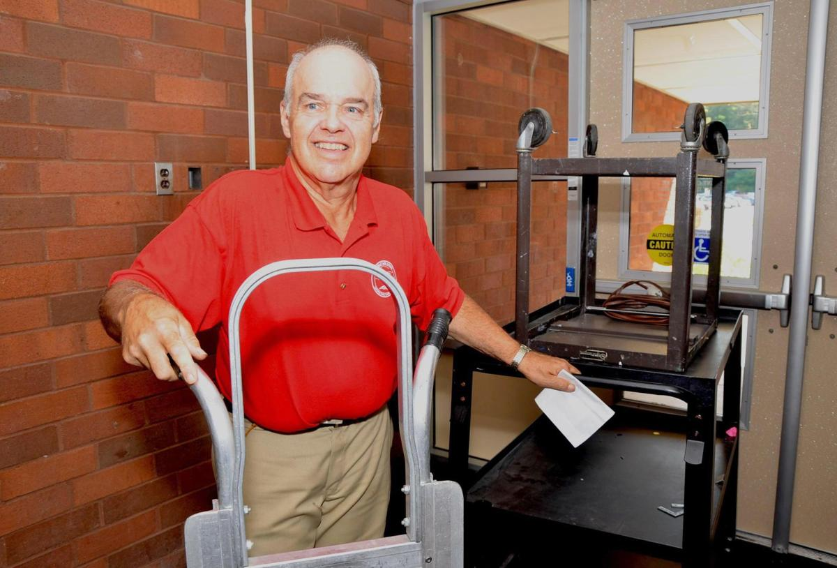 His 44th first day of school - Myron Beau Beaudin is more than a custodian