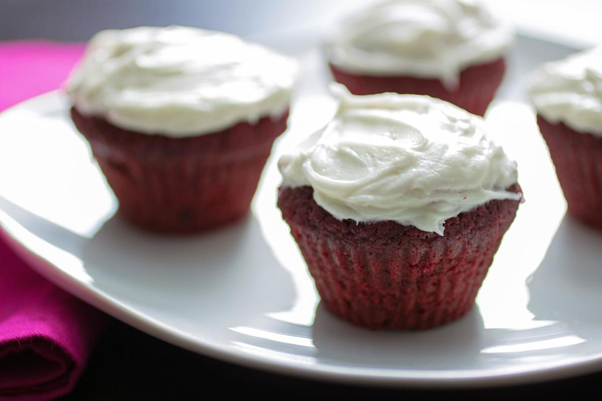 The Spice Lady: All natural 'red velvet' cupcakes