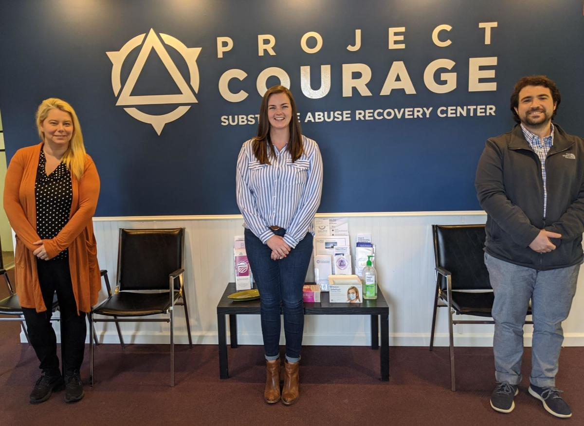Saybrook Project Courage helps local college student via telemedicine