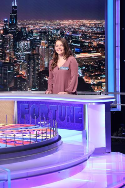 Branford native watched Wheel Of Fortune from 'before I can remember'. Now she takes a spin.