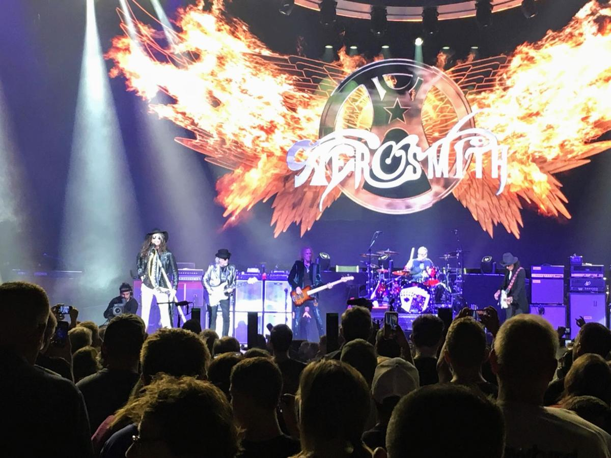 Aerosmith pounds out the hits in Springfield residency opener