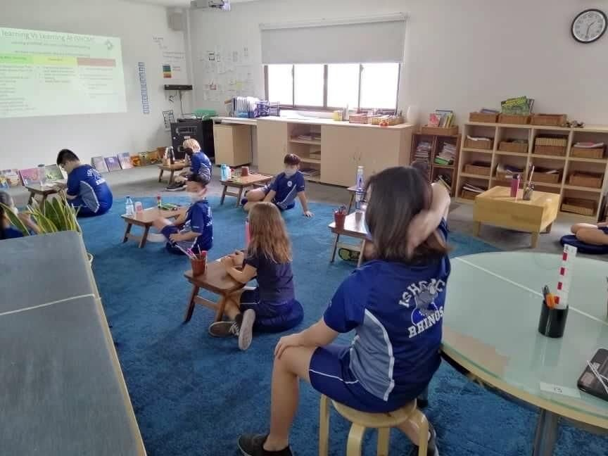The kids are in school in Vietnam. An American teacher shares her experiences.