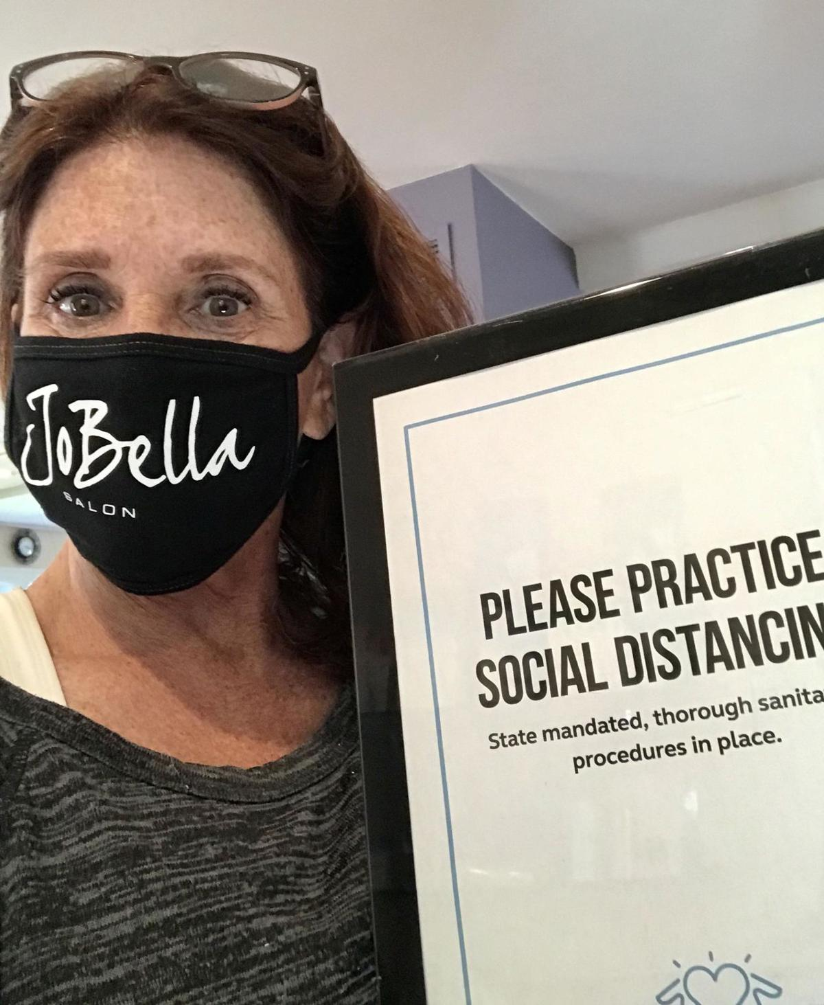 Branford's JoBella Salon join other stylists to rally against delay of reopening for hair salons, barber shops