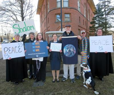 Local clergy answer antisemitism with peace
