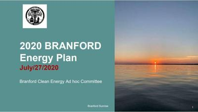 Draft Branford energy plan aims for 100 percent 'clean' renewable electricity by 2040