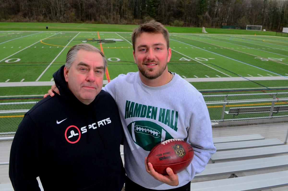 All in the family: T.J. Linta pursuing his NFL dream with his dad there every step of the way