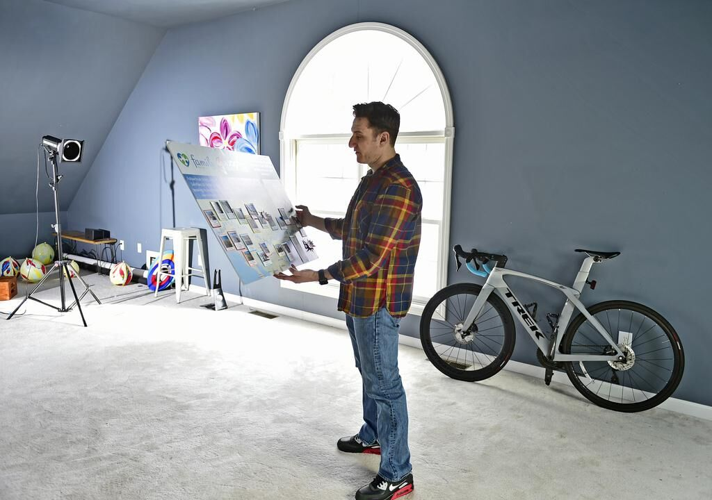 'I am these kids and I live here.'Guilford man bikes 3,100 miles to help foster kids; does film