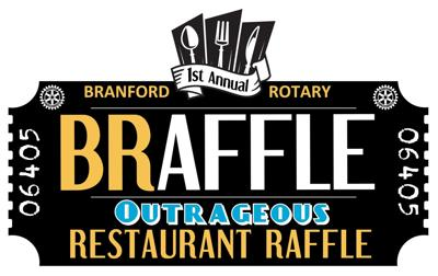 Branford Rotary launches 'Braffle – 'The Outrageous Restaurant Raffle'