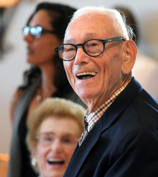 Madison's civic leader Jack Davis celebrates 90th with family, friends, officials