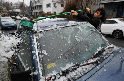 NWS warns of black ice on untreated CT roads