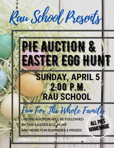 Rau School Easter Egg Hunt