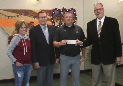 Dayton Foundation donates to new high school track