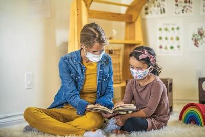 home schooling pandemic file photo