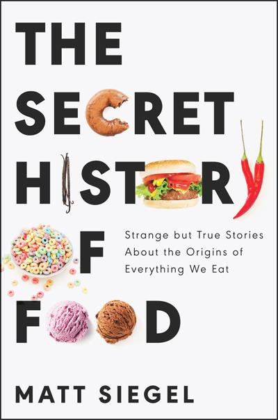 SECRET HISTORY OF FOODS COVER