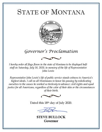 Flag Proclamation