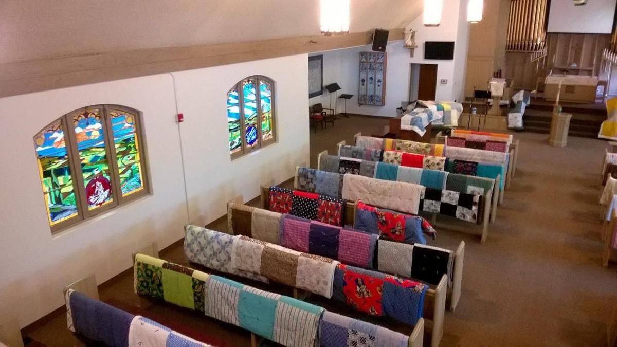 Quilts and Pews