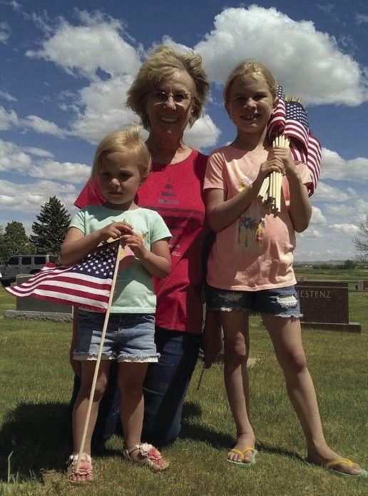 Brenda Larson and Granddaughters