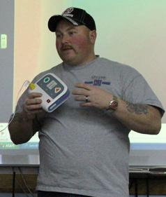 Fairview assistant fire chief offers CPR training