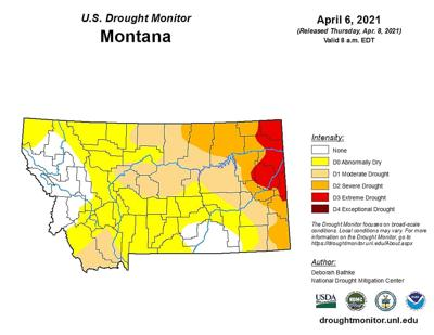 MT DROUGHT MAP 4-14-21