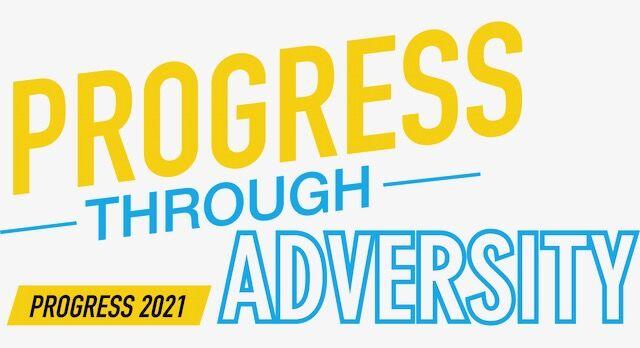 Progress through Adversity logo