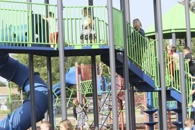 New playground equipment added at Central School