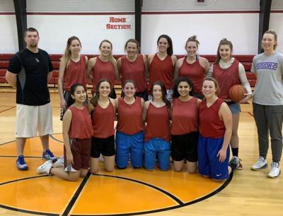 Richey-Lambert girls' basketball team photo