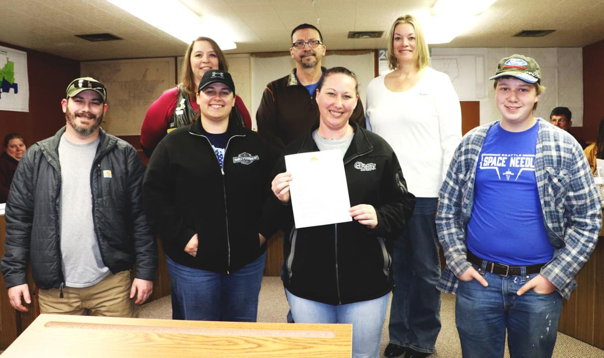 Lone Tree ABATE members attend proclamation signing