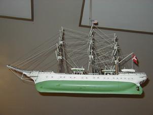Ship hangs in balance at Pella Evangelical Lutheran Church