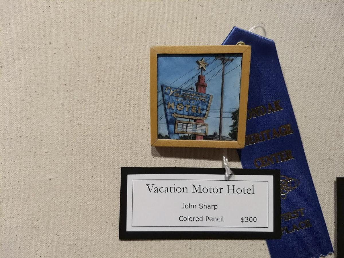 Miniature art show winners announced community for Richland motor inn sidney mt