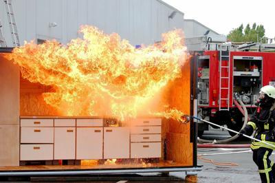 KITCHEN FIRE PRACTICE