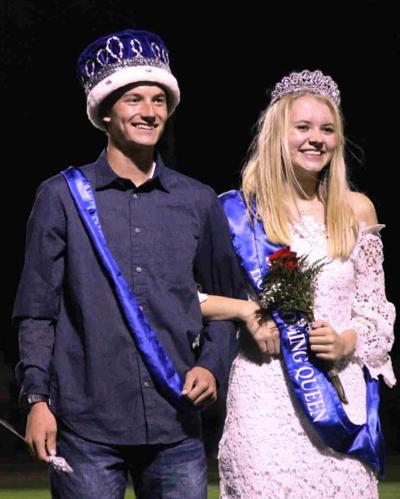 Richey Homecoming king and queen