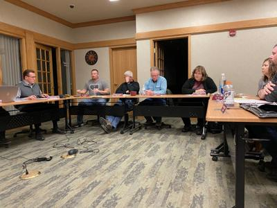 Sidney school board meeting