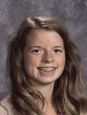 student of month sms Makayla Sparks