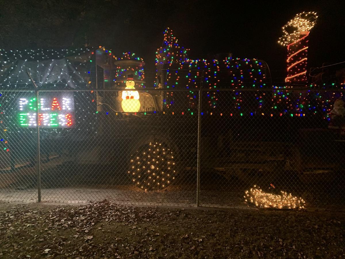 Parade lighting up Christmas spirit
