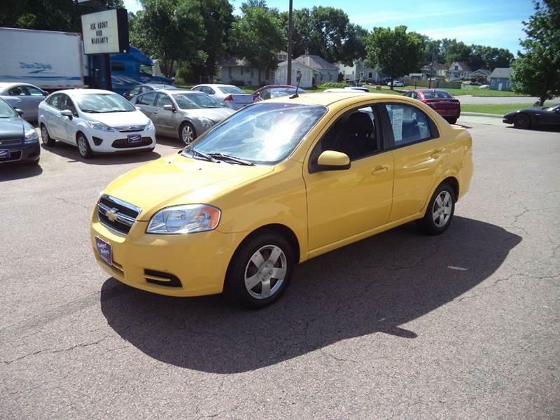 2010 Yellow Chevrolet Aveo Sedans Siouxcityjournal