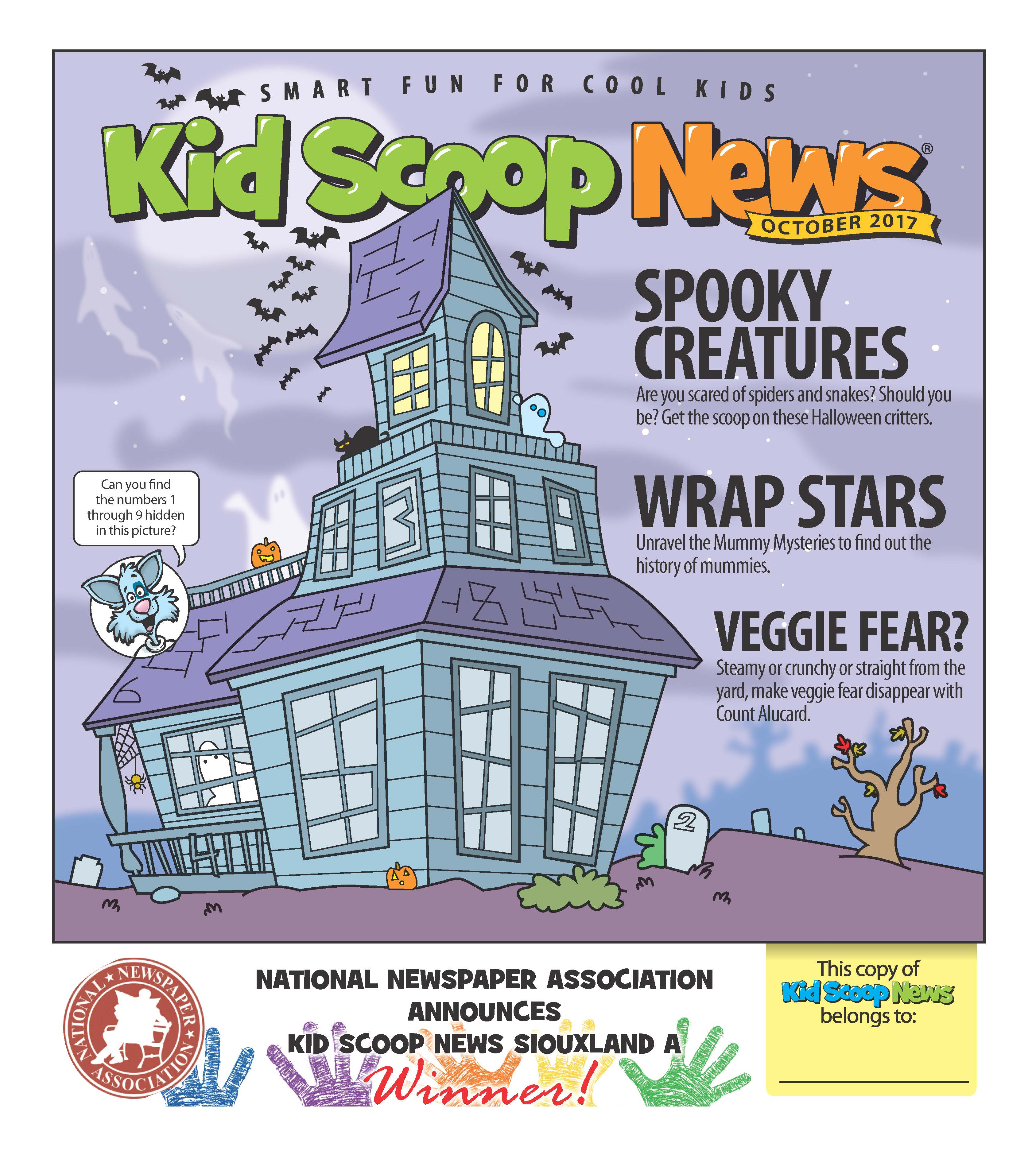 Octobers Kids Scoop Issue is OUT!!