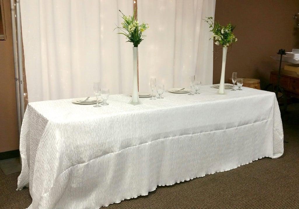 Floor Length Banquet Table Cloths