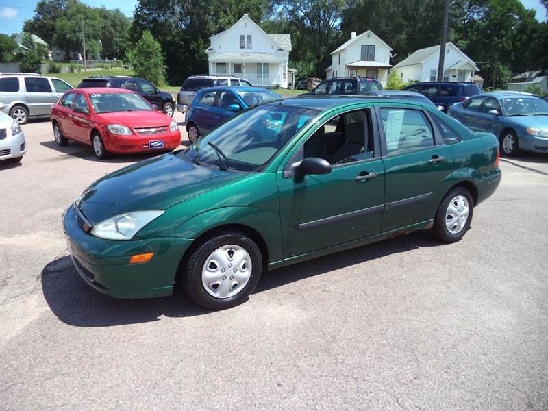 2000 Green Ford Focus