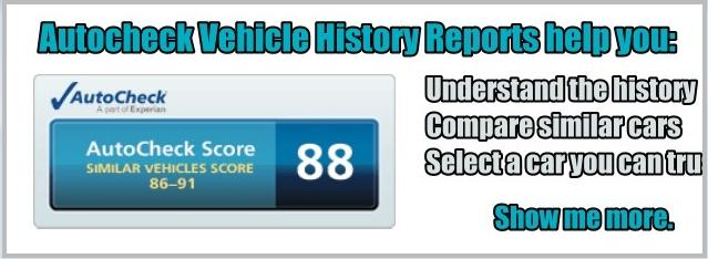 Rasmussen's Ford Autocheck Vehicle History Report