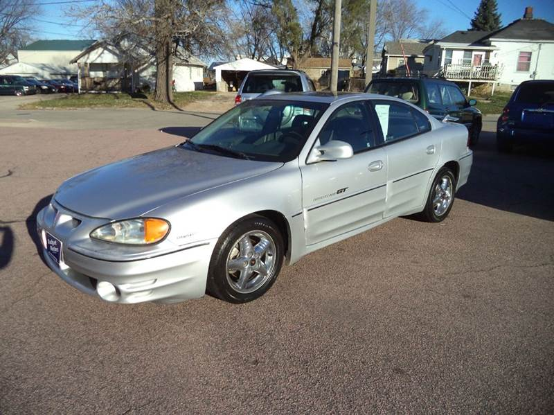 2001 Silver Pontiac Grand Am