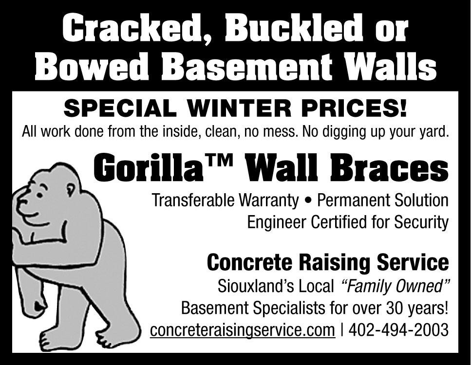 Wall Brace Ad