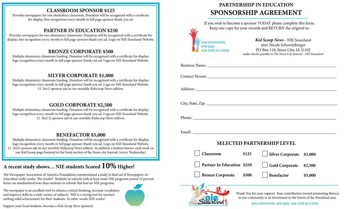 Become a Kids Scoop Classroom Sponsor Today!