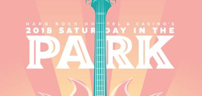 2018 Saturday in the Park poster