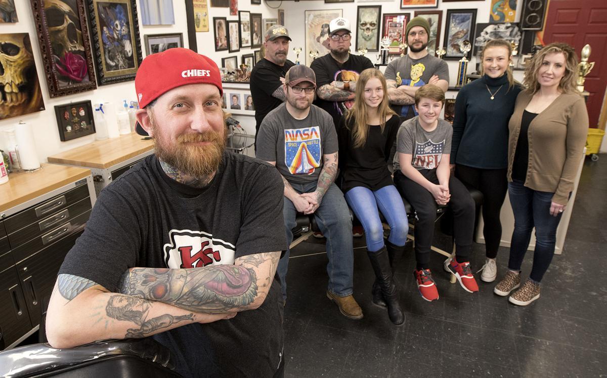 Andy Bagshaw Living Art Tattoo Studio