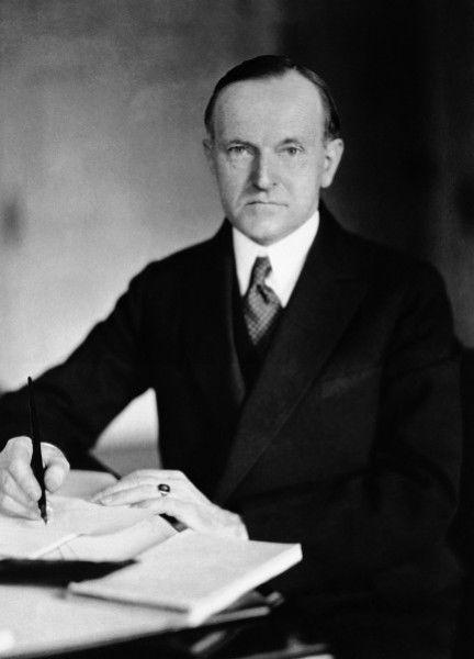 27. Calvin Coolidge