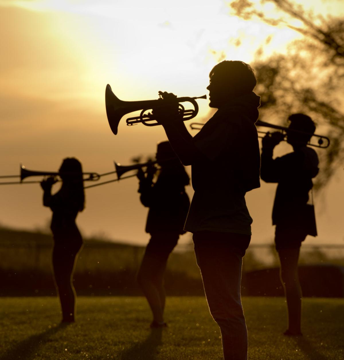 North High School marching band COVER PHOTO