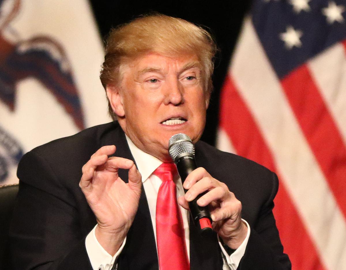 Donald Trump at Orpheum Theatre 013116