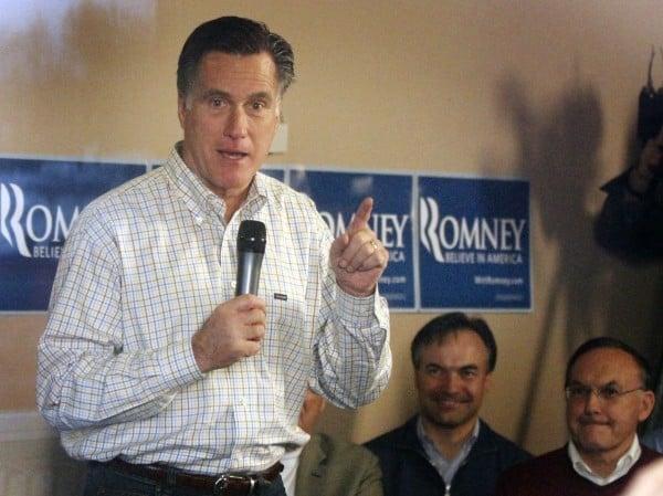 Mitt Romney LeMars