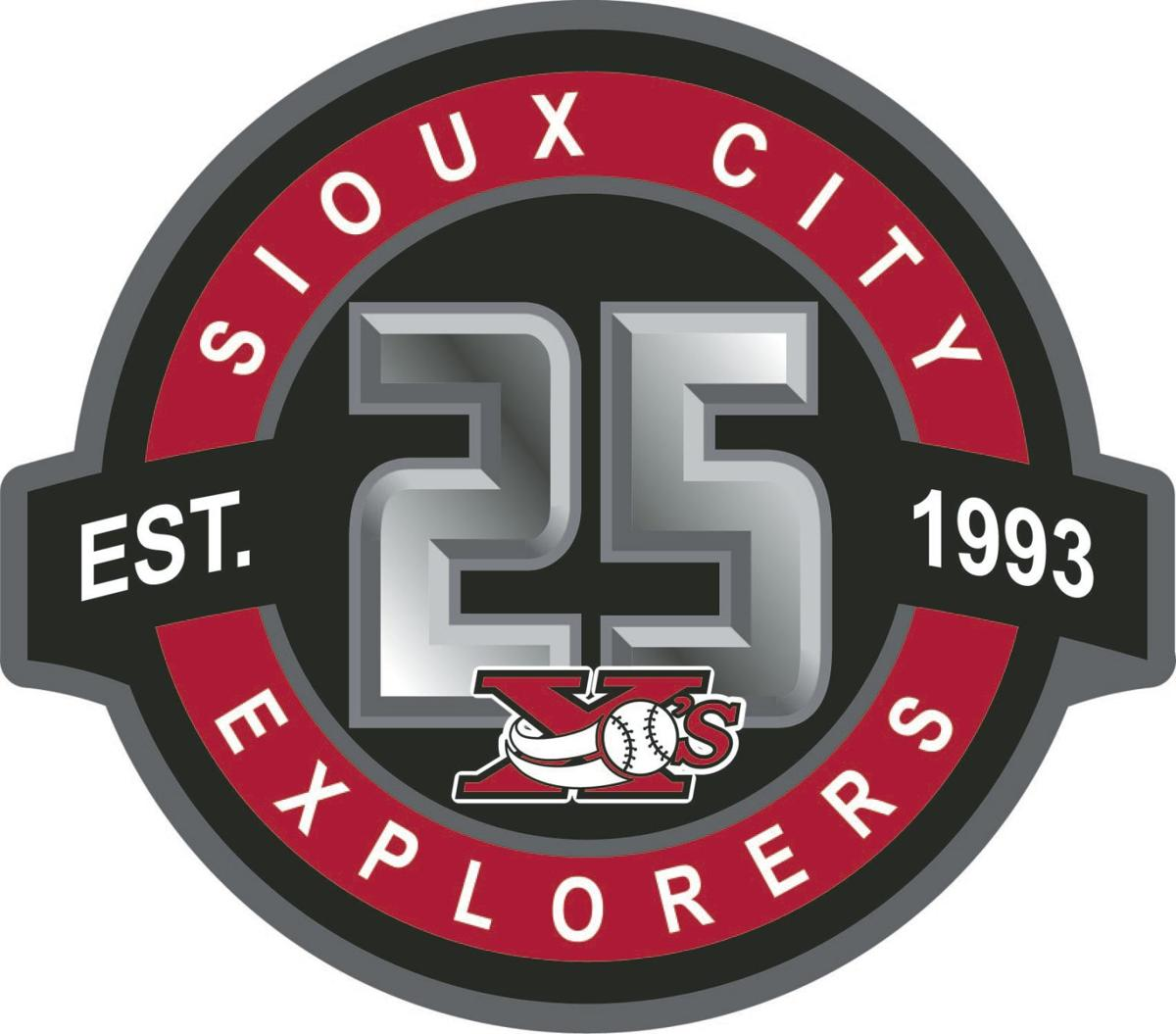 Sioux City Explorers 25th logo